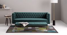 How To Use A Living Room Sofa For Maximum Space Utilization? Living Room Sofa, Living Room Interior, Dining Room, Ottoman Sofa, Couch, Canapé Design, Interior Design, Sofas, Sofa Colors