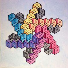 Risultati immagini per geometric form impossible Geometric Designs, Geometric Art, Impossible Shapes, Dazzle Camouflage, Isometric Drawing, Mandala Art Lesson, Sacred Geometry Art, Doodle Art Drawing, Illusion Art
