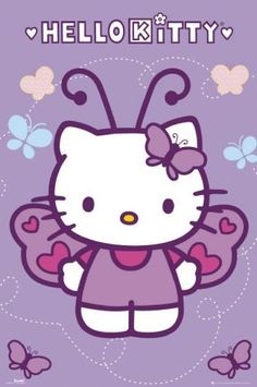 Hello Kitty Butterfly.