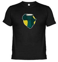 Camiseta Djembe. Puedes comprarla online en: www.latostadora.com/mundopercusion/djembe/432178