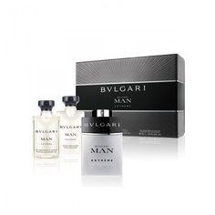 BVLGARI MAN EXTREME EAU DE TOILETTE 100ML GIFT SET MEN - This Set Contains : 100ml Eau de Toilette Spray, 75ml Shower Gel, 75ml Aftershave Balm.