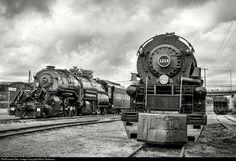 RailPictures.Net Photo: NW 2156 Norfolk & Western Steam 2-8-8-2 at Roanoke, Virginia by Mitch Goldman