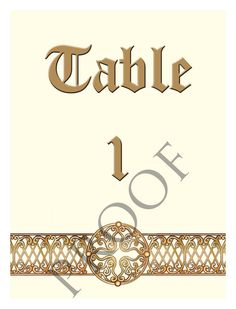 Items similar to Gold Celtic Custom Wedding Wine Label Table Numbers or Anniversary Signature Table on Etsy Wedding Wine Labels, Table Numbers, Celtic, Anniversary, Unique Jewelry, Handmade Gifts, Gold, Accessories, Etsy