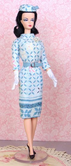 Cheque Mate for Silkstone Barbie by HankieChic on Etsy