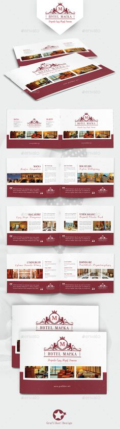 Professional Hotel Brochure Template Hotel Brochures Pinterest - hotel brochure template