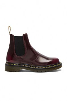 33257e1070f Dr. Martens Chelsea Boot in Cherry Red