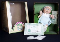 Cabbage Patch Kids...oh my goodness!!!  I searched all over for this doll for my daughter...and found it..:)