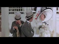 Eliza Blunders the Small Talk -- Scene from MFL at the track These are classic scenes. My Fair Lady, Eliza Doolittle, Film Institute, Small Talk, Buffy The Vampire, Weird Fashion, All Movies, Life Goes On, Golden Age Of Hollywood