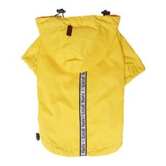 Puppia Authentic Base Jumper Raincoat, Yellow >>> Check this awesome product by going to the link at the image. (This is an affiliate link) Blue Raincoat, Dog Raincoat, Small Dog Clothes, Pet Clothes, Jumper, Puppy Diapers, Puppy Coats, Small Puppies, Dogs