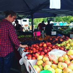 Saturday morning farmers' market fun #supportyourlocalfarmer #farmtofork #local #organic