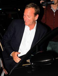 Kiefer Sutherland Photos: Kiefer Sutherland Out for Dinner
