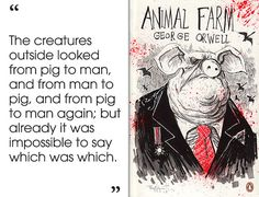 the corruption of power in the animal farm by george orwell Read this essay on absolute power and corruption in animal farm in animal farm,george orwell portrays how power tends to corrupt and absolute power corrupts.