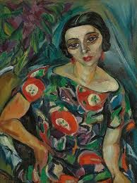 Portrait of Rebecca Hourwich Reyher by Irma Stern South African associated with German Expressionist painters of her day (wiki) - (lilithsplace) Francoise Gilot, Muse, Contemporary African Art, South African Artists, Art Deco, Art Station, Wow Art, Portraits, Illustrations