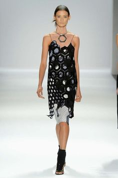 Vivienne Tam Spring 2013: Metal, Wood, Water, Fire, Earth, Geometric Shapes - Fashion Week - Racked National