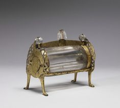 Crystal Reliquary, the Walters Art Museum