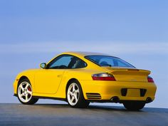 2004 Porsche Turbo Coupe - Rear Angle - 1280x960 Wallpaper