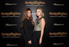 Jacquie Lee and Olivia Holt attend Disneynature's Monkey Kingdom special screening celebrating the film's September15th Blu-ray / Digital HD release on September 2, 2015 in New York City.