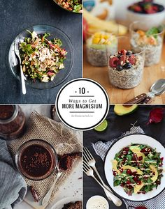 10 Natural Ways To Get More Magnesium | http://hellonatural.co/10-ways-to-get-more-magnesium/