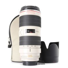 The #Canon EF 70-200mm f2.8 L IS II USM #Lens is a compact, lightweight, high-performance telephoto zoom lens that delivers excellent image quality. The Canon EF 70-200mm f2.8 L IS II USM Lens is an awesome #travel companion. Telephoto Zoom Lens, Used Cameras, Camera Equipment, Canon Ef, Barrel, Compact, Conditioner, Awesome, Bags