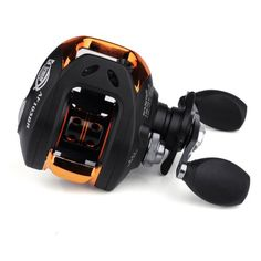 ZhiZhu® 6.3:1 Gear Ratio Bait Casting Fishing Reel (Right Hand Retrieve) - Black Freshest Fishing Clothing And Gear On The Web!