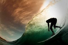 Illusion: Surfing photography by Stuart Gibson.    (Photo © Stuart Gibson)    http://illusion.scene360.com/art/25962/riding-the-wave/