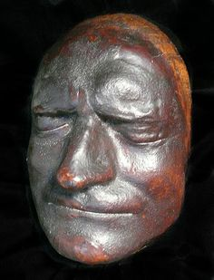 Sir Isaac Newton, 1642-1727,  death mask.