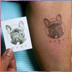 Tattoo Bulldog, French Bulldog Tattoo, French Bulldog For Sale, French Bulldog Art, French Bulldogs, Dachshund Tattoo, Mini Tattoos, Dog Tattoos, Small Tattoos