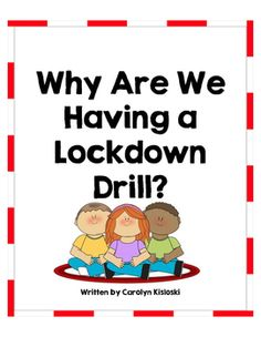 This book gently explains to children why having a lockdown drill is necessary. Since each school has its own rules and procedures for a… Preschool Behavior, Classroom Behavior, Autism Classroom, Kindergarten Classroom, Future Classroom, Preschool Activities, Preschool Plans, School Classroom, Beginning Of The School Year