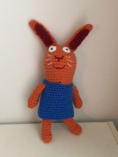 """PDF Pattern for Crochet Amigurumi Wanda the Bunny (from """"Wanda and the Alien"""") Plush by Shimmeree Creations on Ravelry"""