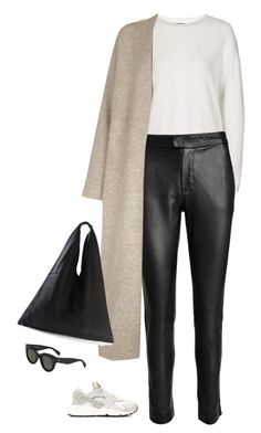 """Unbenannt #480"" by llsbo ❤ liked on Polyvore featuring Topshop, Designers Remix, NIKE, Eileen Fisher, MM6 Maison Margiela, CÉLINE, women's clothing, women, female and woman"