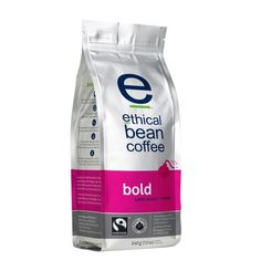 Bold Ethical Bean Coffee Packaging