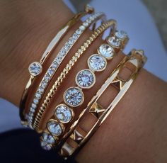 Superb bracelet $44 Star Studded bracelet $49 Bands of Gold bracelets $49 SamanthaKGiambalvo@gmail.com