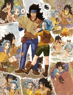 Fairy Tail, Gajevy by sketchy ❤ flavor