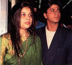 with Shehnaz - old pic