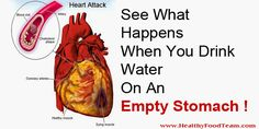 See What Happens When You Drink Water On An Empty Stomach! - http://detox-foods.co.uk/see-what-happens-when-you-drink-water-on-an-empty-stomach/