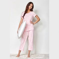 mySTYLE Women's Peachy Dream Pyjama Set - 2pc.