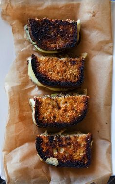 Grilled Gruyere Cheese & Granny Smith Apple Sandwich