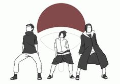 Naruto. Uchiha dance party. (Click through for GIF.) Play it to [MAD - HETALIA] Pocky dance!!!!