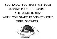 Chronic Illness ~ So, True!