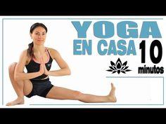 Yoga en casa 10 min para principiantes | Día 11 MalovaElena - YouTube