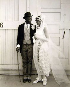 vintage african american wedding photos - Google Search