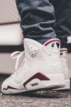 "588e8cc37218 AirVille - The Air Jordan 6 ""Maroon"" By Jumpman23 Chaussures De Course Nike"