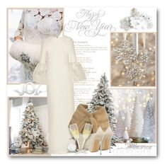 """Happy new year!"" by bliznec ❤ liked on Polyvore featuring Roksanda, Casadei and newyear"