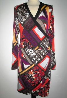 * * * COMMA, Kleid im Wickellook, Gr.42 * * * Kimono Top, Ebay, Tops, Women, Fashion, Clothing Accessories, Gowns, Moda, Fashion Styles