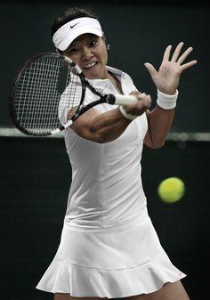 Li Na Wimbledon 2013 Love her. Atp Tennis, Tennis Clubs, Sport Tennis, Tennis Players, Tennis Racket, Tennis Dress, Tennis Clothes, Tennis Outfits, Tennis Fashion