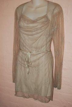 LIP SERVICE Lily Lace mini dress