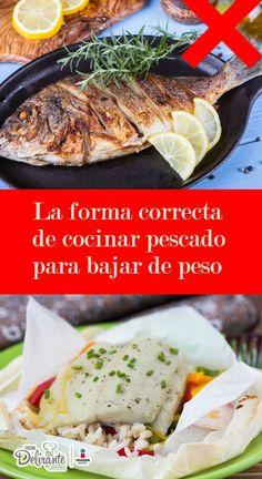 cocinar pescado saludable   CocinaDelirante