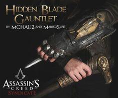 Papercraft Contest 2015 - Instructables Steampunk Assassin, Assassin's Creed Hidden Blade, Halloween Projects, Halloween Ideas, Halloween Costumes, Steampunk Accessories, Good Presentation, Foam Crafts, Assassins Creed
