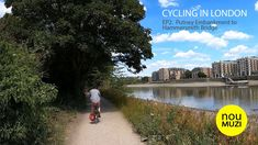 Cycling in London - EP.2- Putney Embankment to Hammersmith Bridge - YouTube Cycling In London, Bridge, Country Roads, River, Youtube, Bridge Pattern, Rivers, Legs, Youtubers