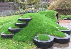 Creative and Cute Backyard Garden Playground for Kids (12)